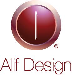 Alif Design Logo