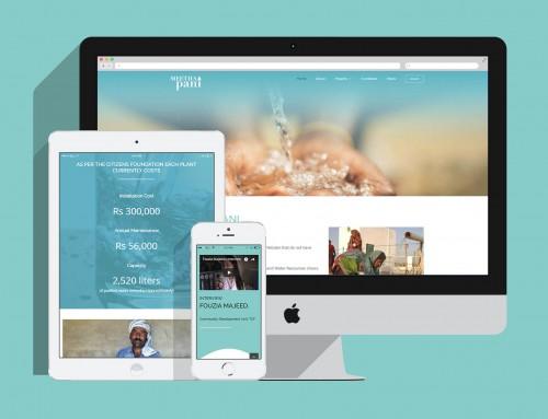 Metha Pani  – Website